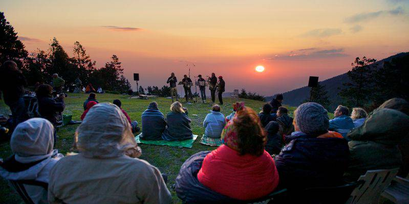 Concert au refuge des Cortalets par ©J.MOLINA