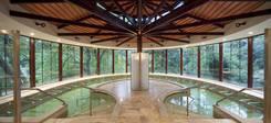 Molitg-les-Bains, piscine d'eau thermale