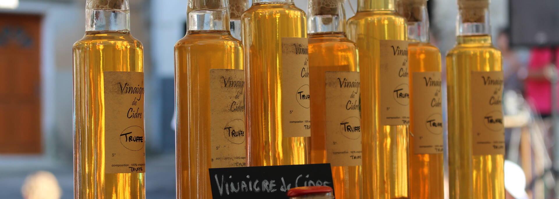 Vinaigre de cidre - Marché de la Rotja