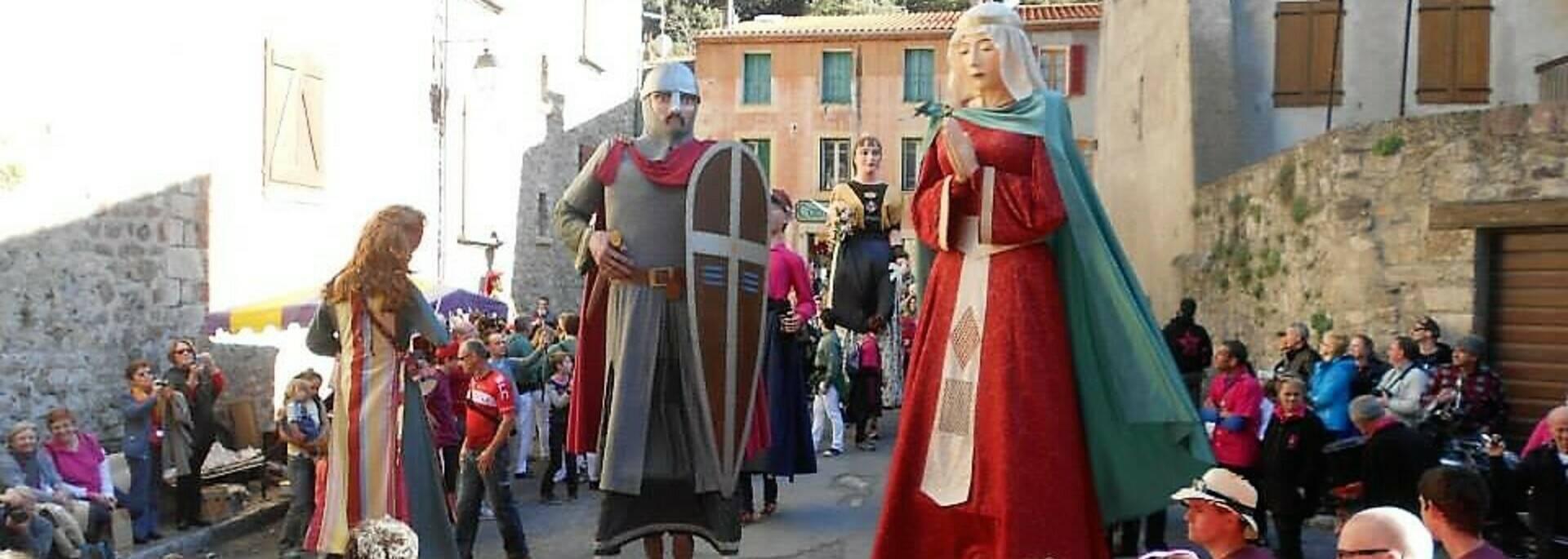 Fête des Géants à Villefranche de Conflent