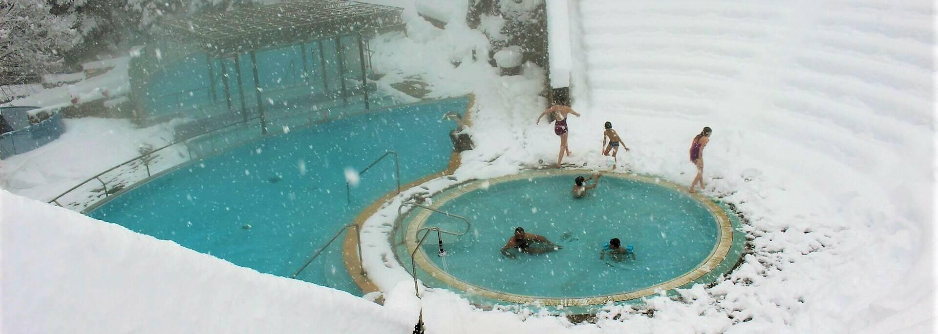 Bains de Saint Thomas version hiver