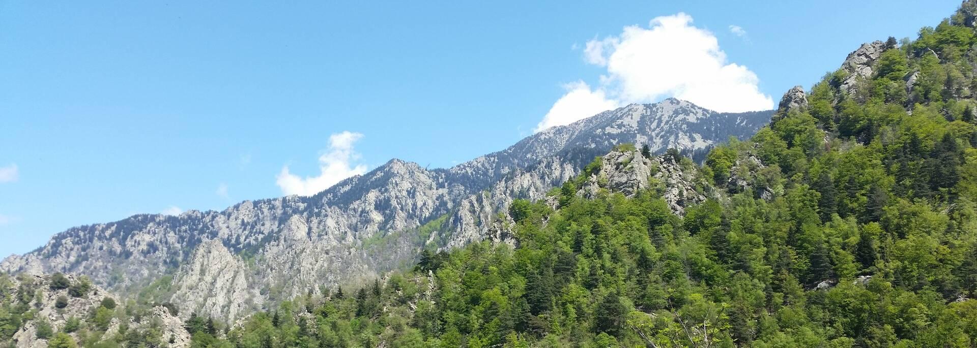 Randonnée Col de Jou - refuge de Mariailles