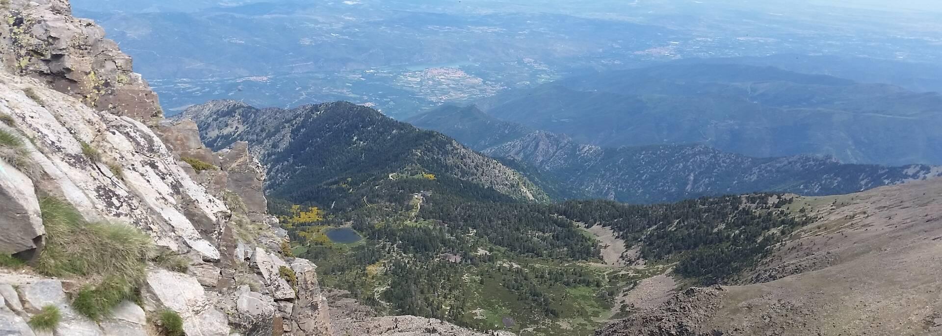 Vue du Pic du Canigou
