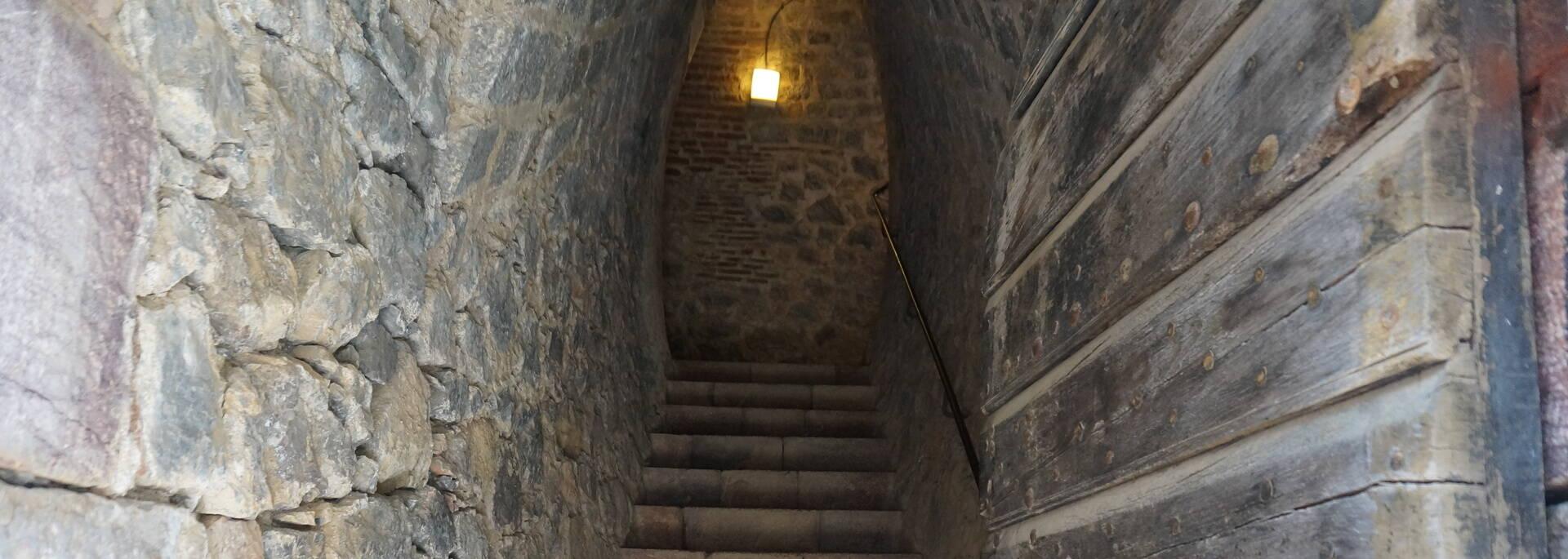 La dernière porte avant d'arriver au Fort Libéria
