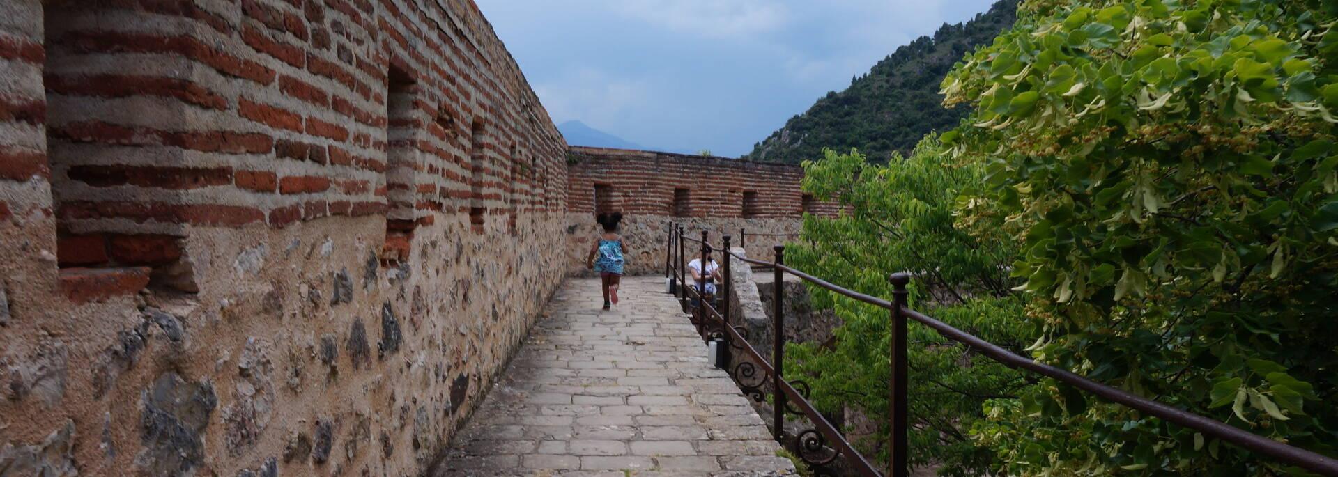 Chemin de ronde du Fort Libéria