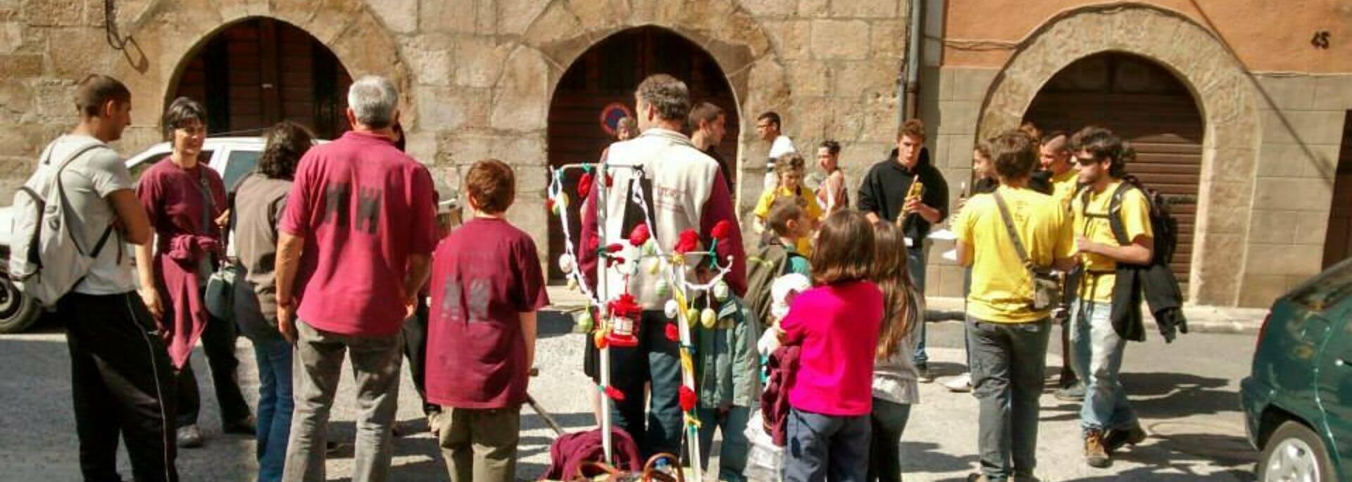Goigs dels Ous de Xocolat - fête des Géants Villefranche de Conflent