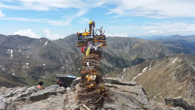 L'ascension du Pic du Canigó en 4X4 jusqu'au refuge des Cortalets
