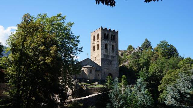 L'abbaye Saint-Martin du Canigou