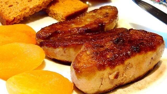Recette de Noël : Foie gras poêlé au muscat