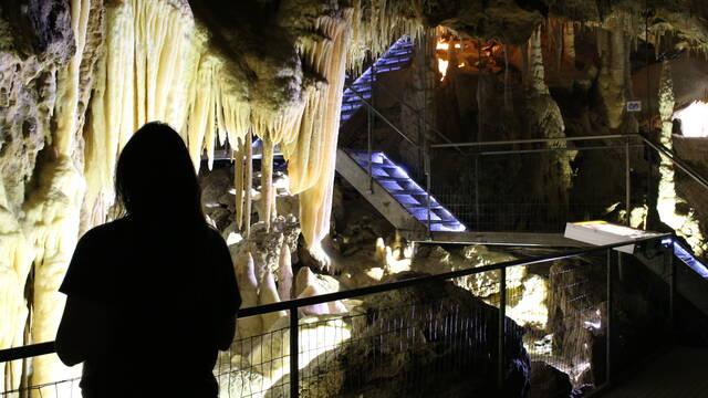 Les grottes des Canalettes