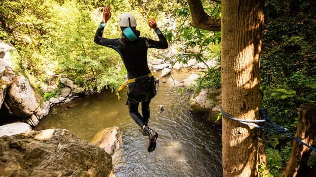 Canyoning et sports d'eau vive