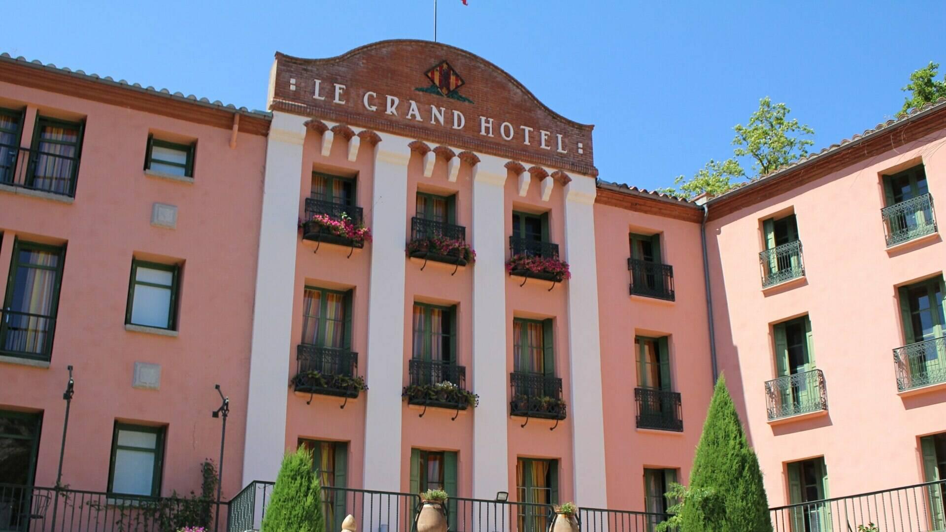 Le Grand hôtel des Thermes de Molitg les Bains