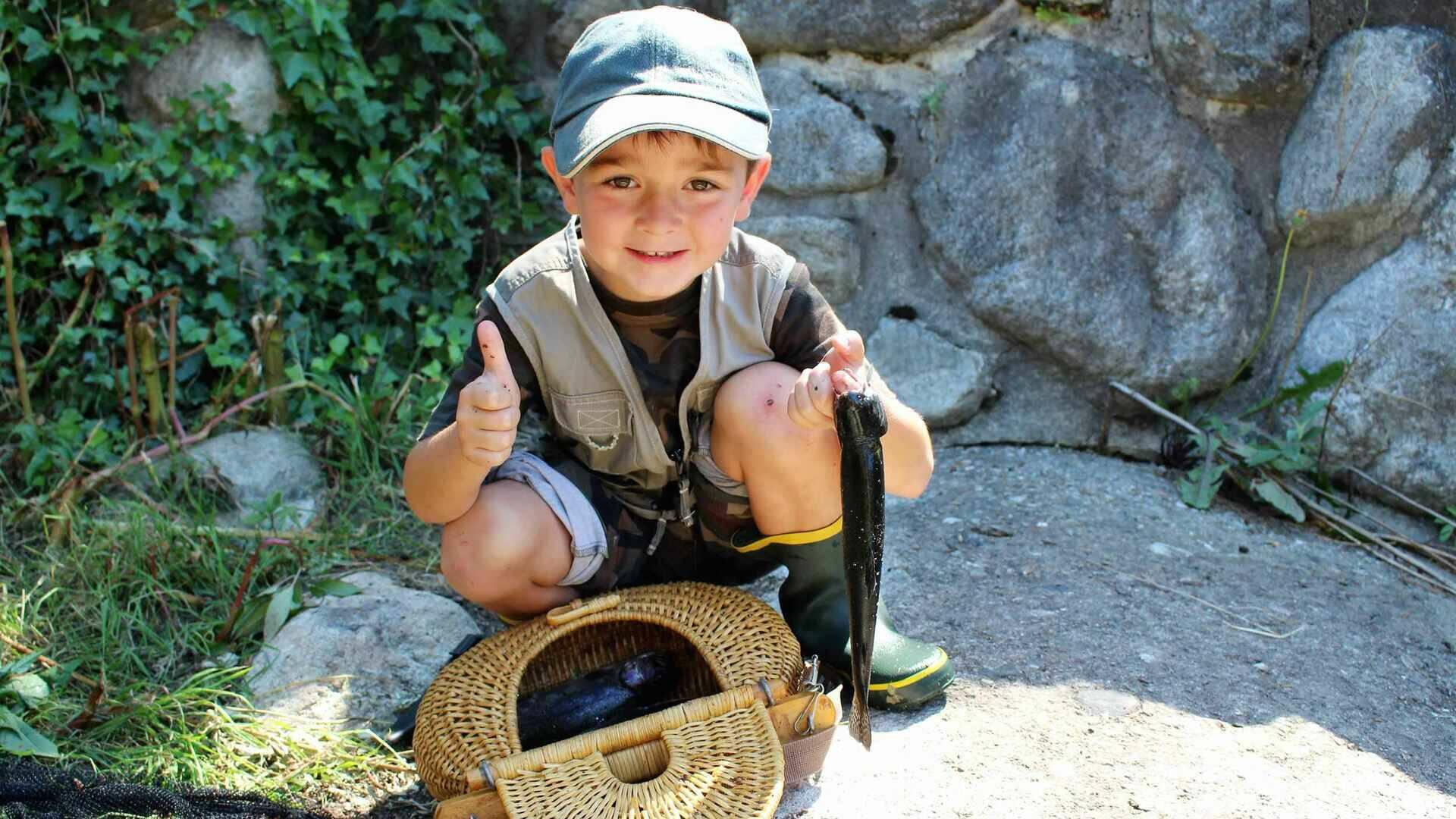pêche en conflent enfant
