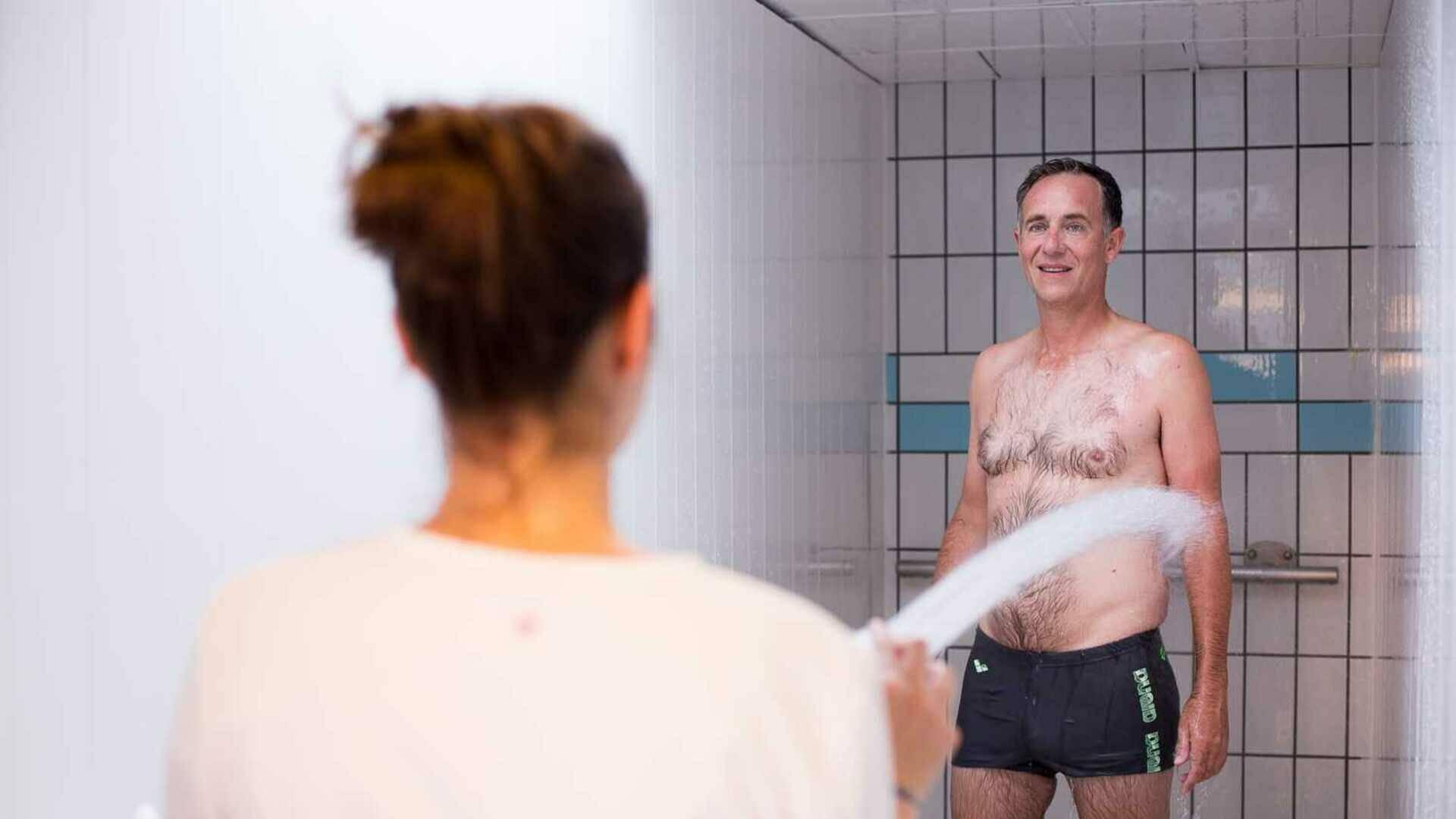 douche pénétrante générale, thermes de vernet les bains