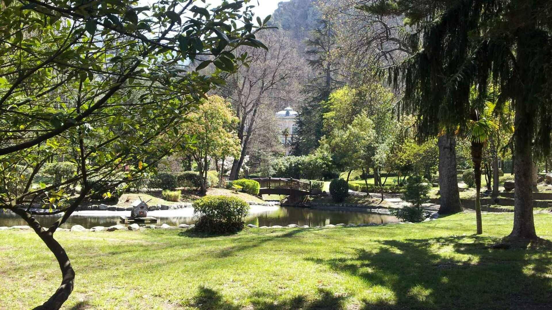 village arboretum de vernet les bains