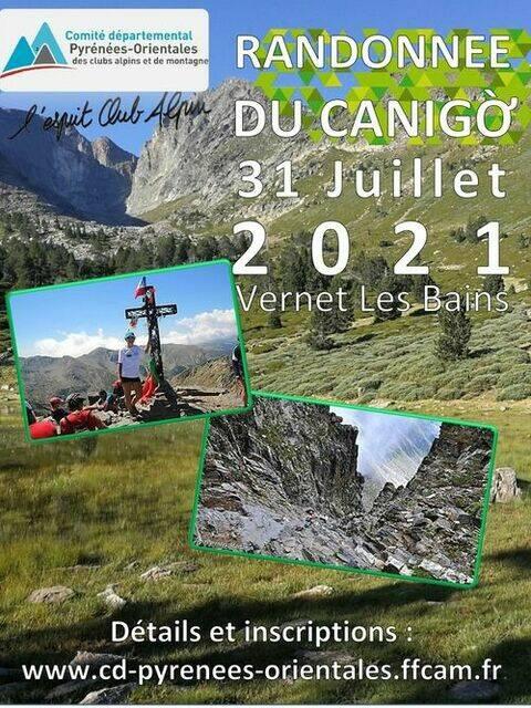 randonnée du canigou club alpin français