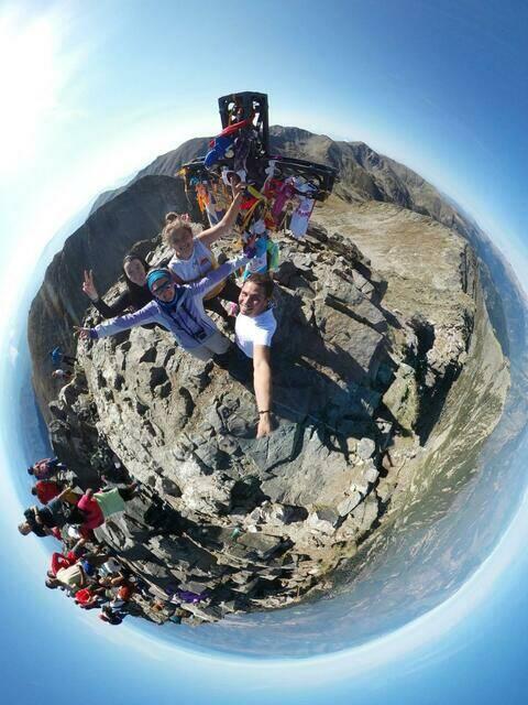 Un 360° au pic du canigo