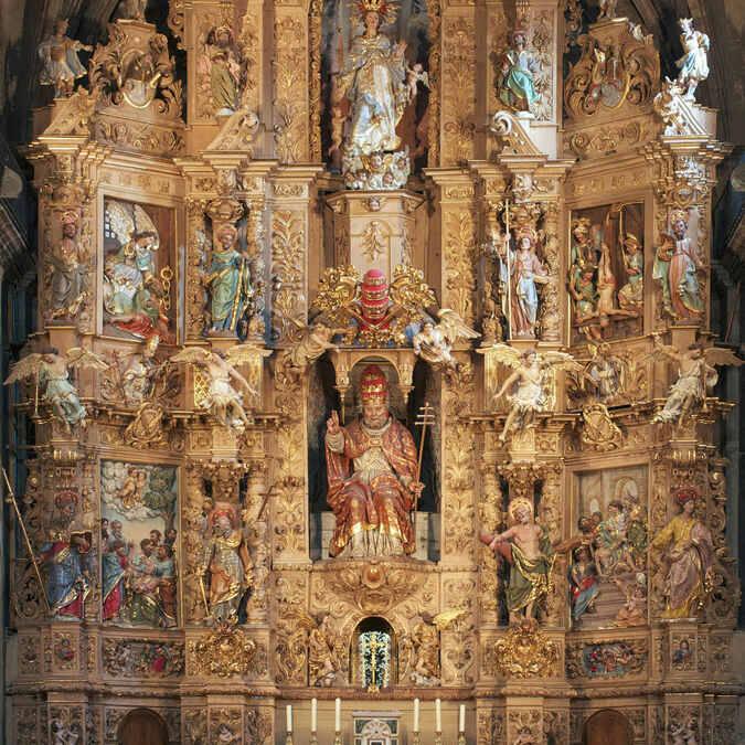 retable église saint pierre prades