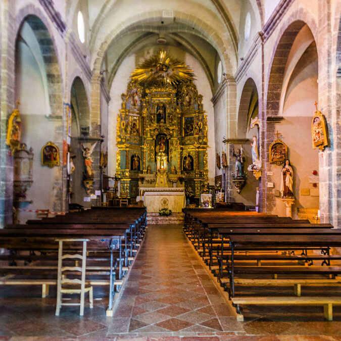 église saint vincent eus